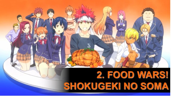 2. Food Wars